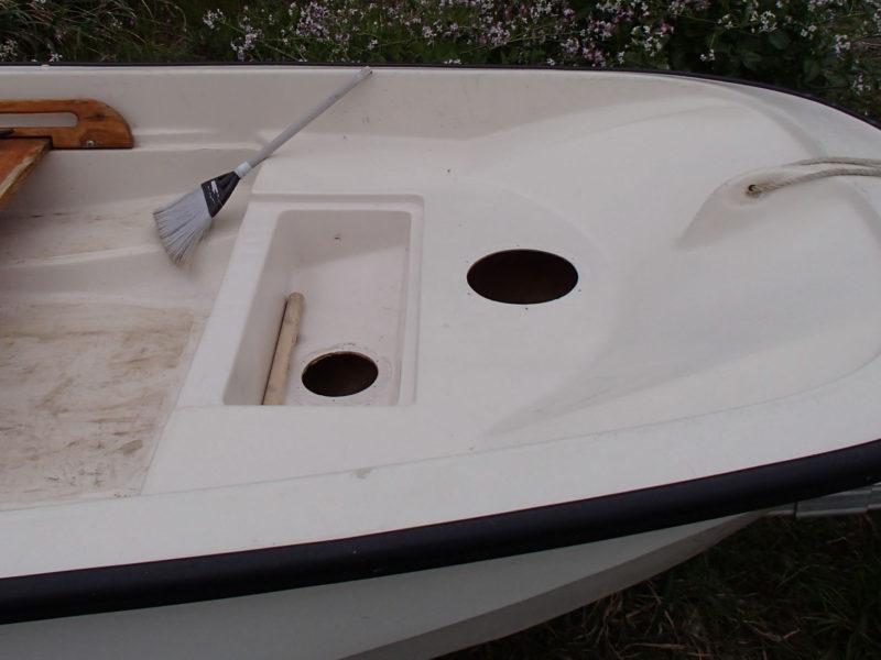 インスペクションハッチ 設置 ボート
