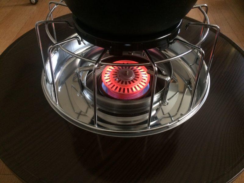 石油コンロと鉄鍋で炊飯 (5)