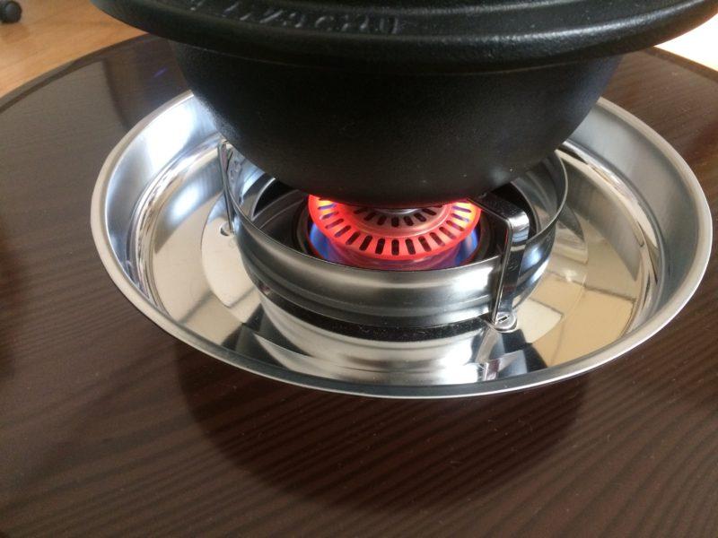 石油コンロと鉄鍋で炊飯 (8)