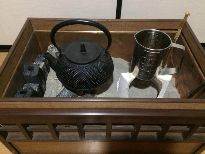 長火鉢の紹介