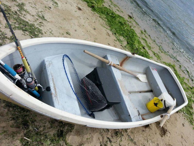 手濃ぎボート