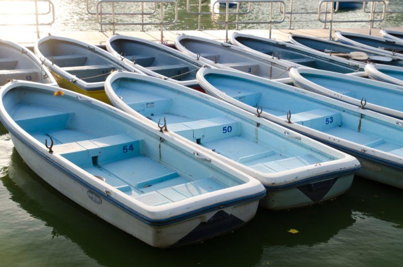 手漕ぎボート 貸しボート