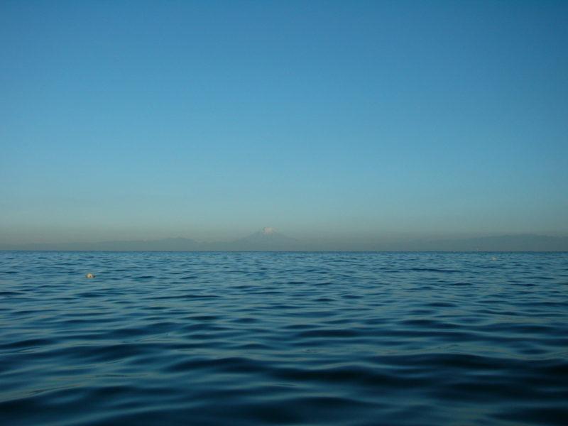 海の手漕ぎボート入門 安全