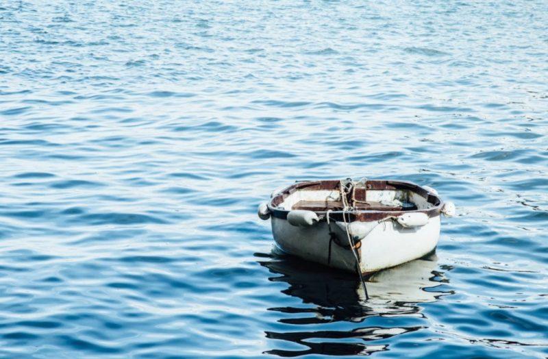 ボート置き場 手漕ぎ