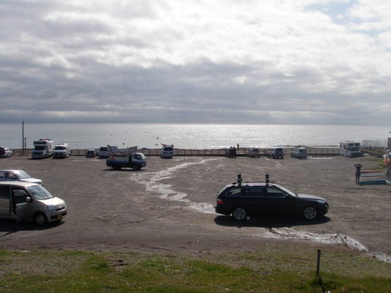 和田長浜海岸駐車場