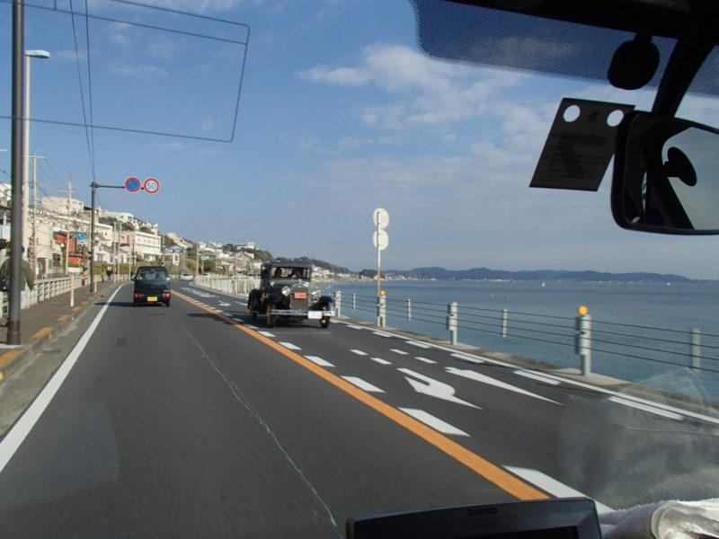 神奈川県の海岸沿い