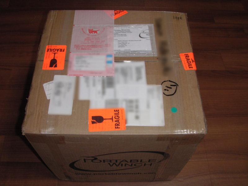 ポータブルロープウインチ PCW5000