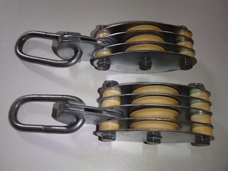 滑車 ブロック 倍力システム