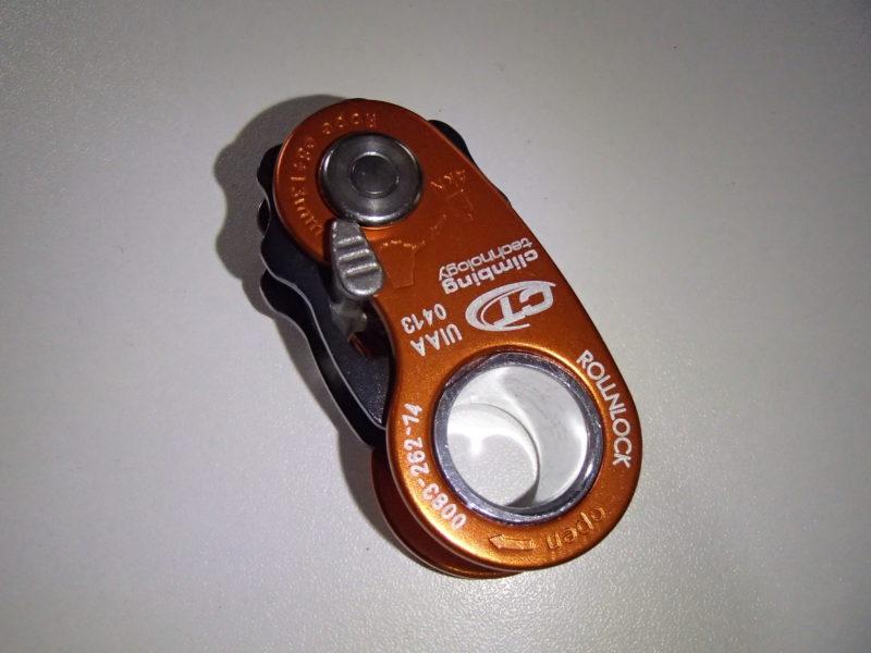 ロールンロック 滑車 ブロック 倍力システム