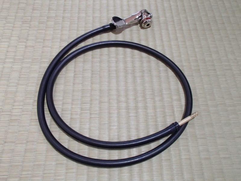 ヒラメポンプアダプターヘッドを使って延長ホースを作る。(KUWAHARA HIRAME)