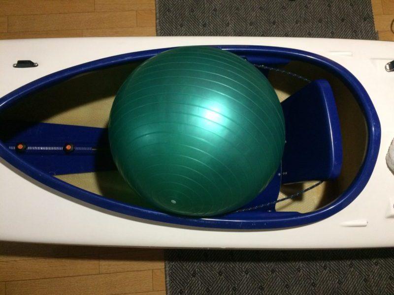 シットインカヤック 浮力体