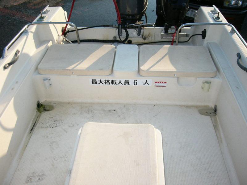 ヤマハ ボート 船外機 50馬力