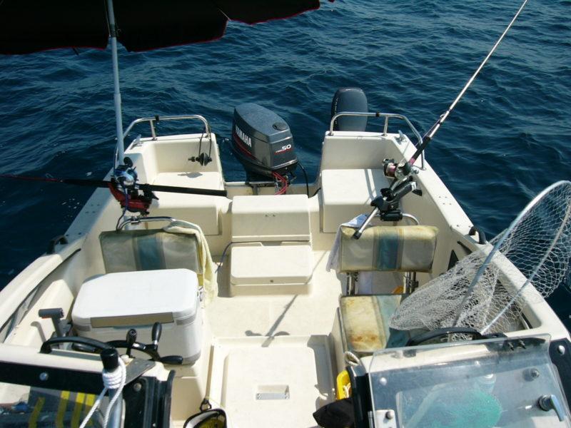 ボート 後部 座席 釣り