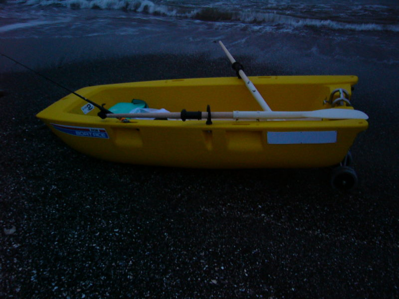 ボート釣り入門 離岸