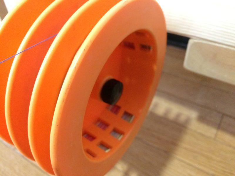 電動糸巻き機 スプール