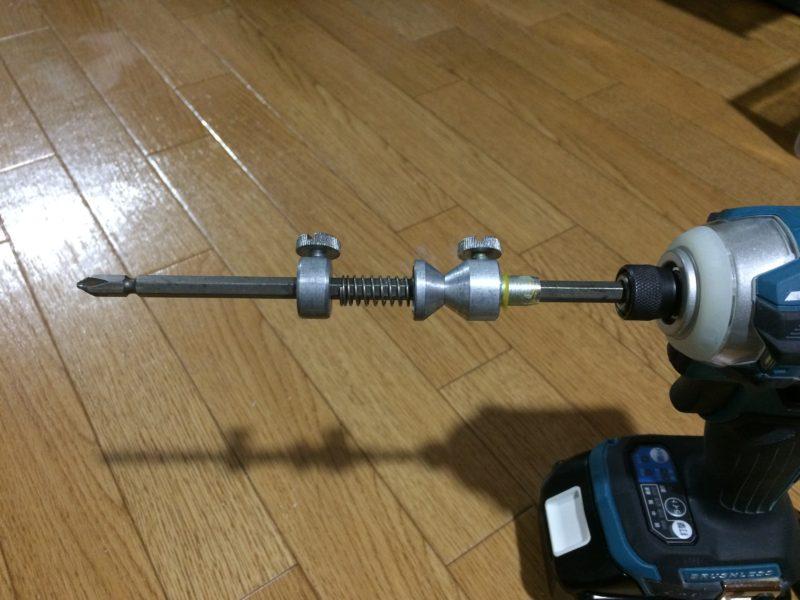 電動ドリル インパクトレンチ 糸巻き リール